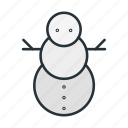 christmas, holiday, man, snow, snowman, winter, xmas icon