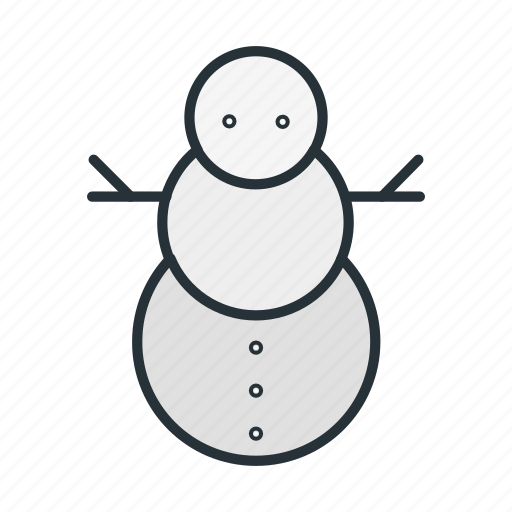 christmas, holiday, man, snow, snowman, winter, xmas icon