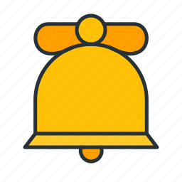 bell, celebration, christmas, decoration, holiday, winter, xmas icon