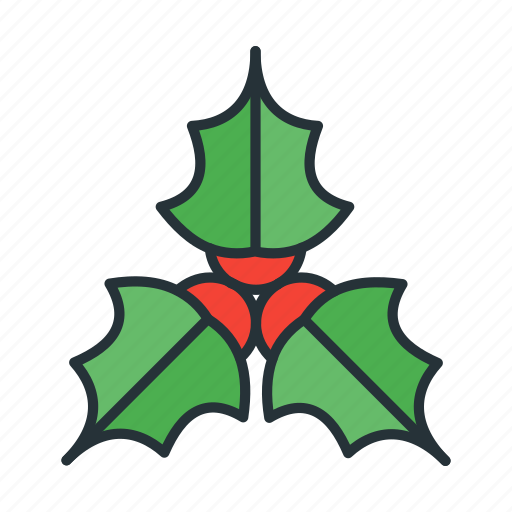 celebration, christmas, holiday, holly, winter, xmas icon