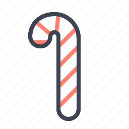 candy, cane, christmas, holidays, sweet, winter, xmas icon