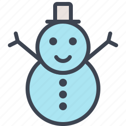 christmas, decoration, holidays, snow, snowman, winter, xmas icon