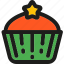 cake, cupcake, dessert, food, muffin, sweet, sweets icon
