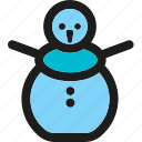 snowman, christmas, decoration, holiday, snow, winter, xmas