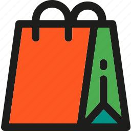 bag, buy, delivery, gift, shop, shopping, transport icon
