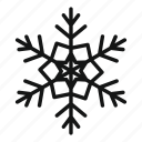 christmas, ech, ice, season, snow, snowflake, winter icon