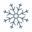 cold, nature, snowflake, weather, winter icon