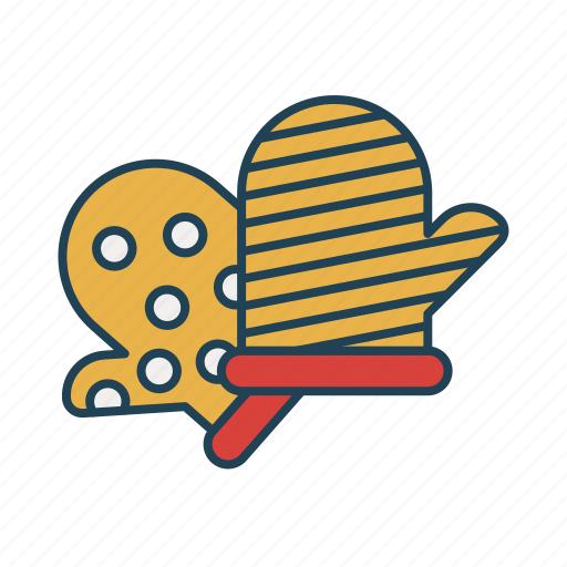 food, gloves, hand, kitchen, kitchen and utensils icon