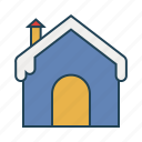 cold, ice, snow, snow house, winter icon