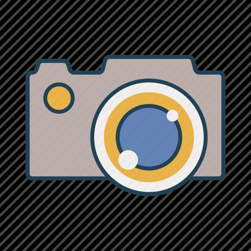 camera, dslr, movie, picture, snap icon