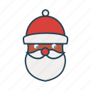 avatar, christmas, santa clause, user, xmas icon