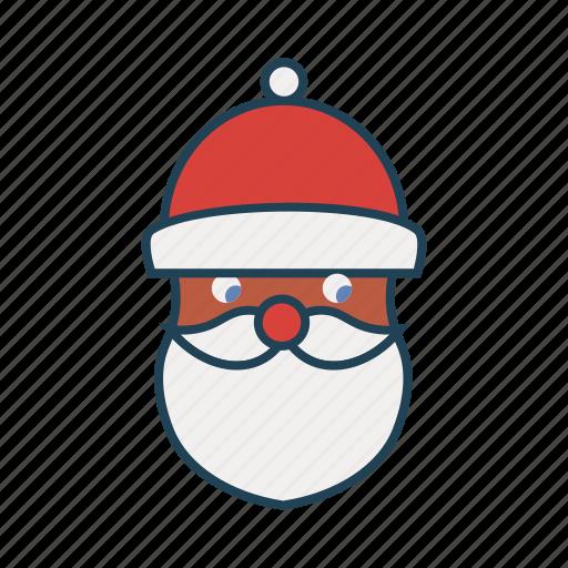 avatar, christmas, santa clause, user, xmas icon
