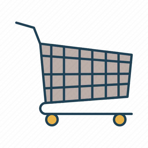 sail, sell, shopping, shopping cart, trolley icon