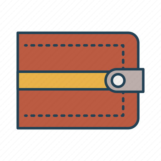 currency, money, pouch, saving, wallet icon