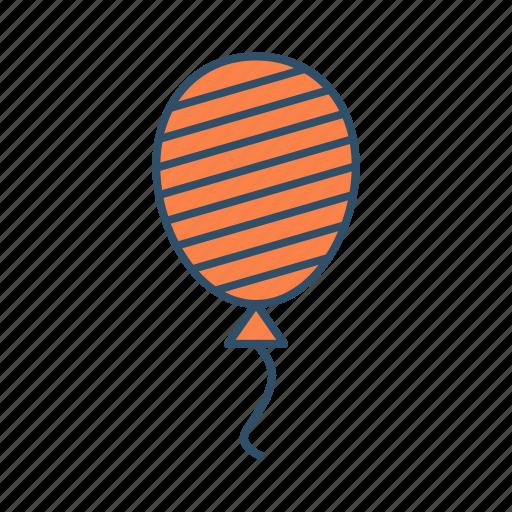 balloon, birthday, decoration, party icon