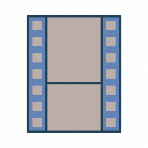 film, movie, multimedia, video, video player icon