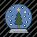 ball, christmas, party, shapes, xmas icon