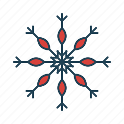 cold, nature, snow, snowflake, weather icon