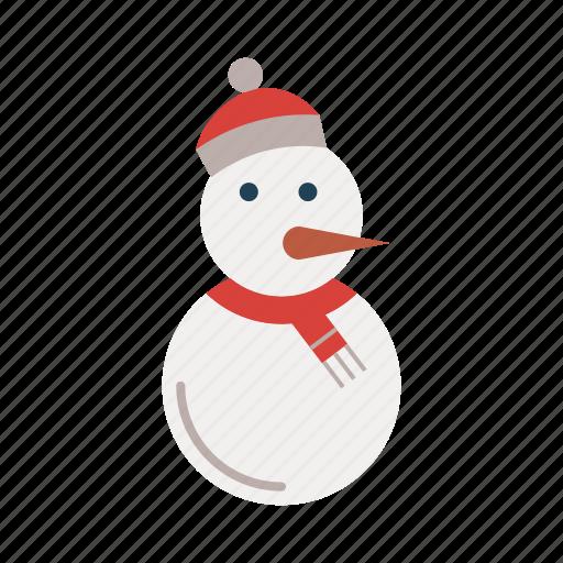 christmas, ice, snow, snowman, xmas icon