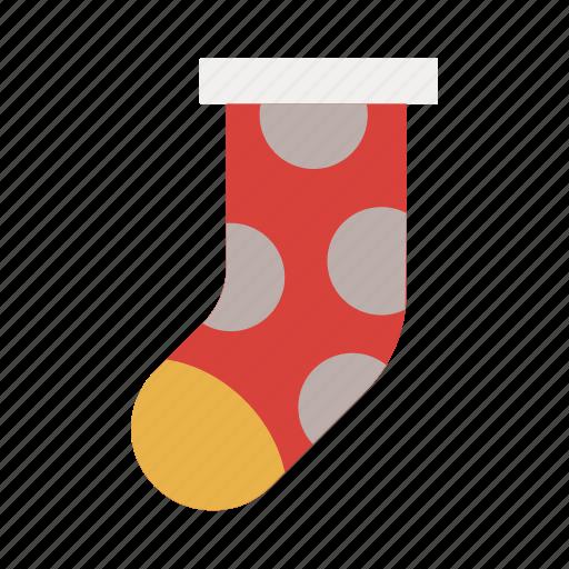 celebration, christmas, holiday, party, socks, xmas icon