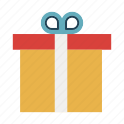 christmas, gift, package, parcel, surprise icon