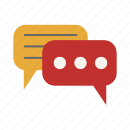 chat, chatting, conversation, mail, message, text icon