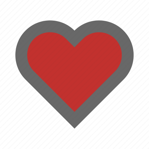 day, heart, hospital, like, medical, romance icon