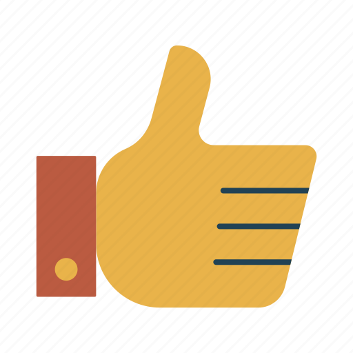 favourite, good, like, star, thumbs up icon
