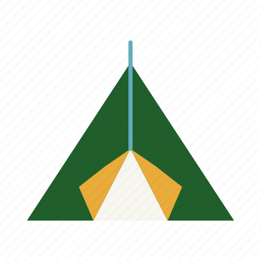 camp, camping, nature, summer, tent, tourism, vacation icon