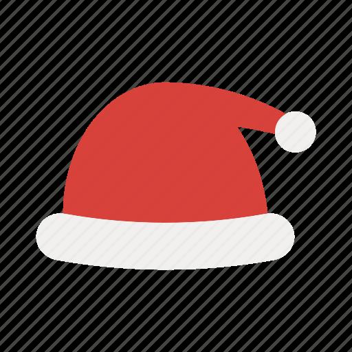 cap, christmas, hat, santa, winter, winter hat, xmas icon