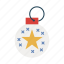 ball, bauble, celebration, decoration, ornament, ornaments icon