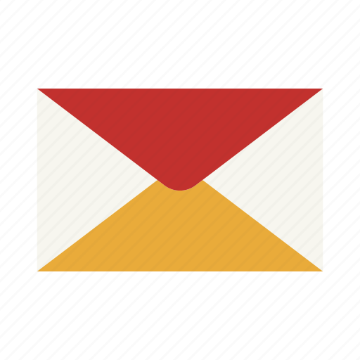 communication, envelope, inbox, invitation, letter, mail, post icon