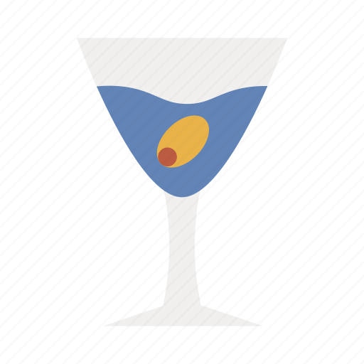 beverage, drink, glass, olives, water icon