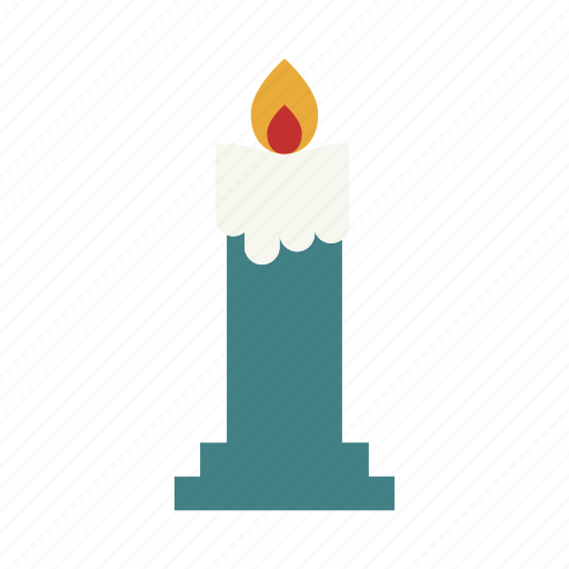 candle, christmas, horror, lamp, light, scary, spooky icon