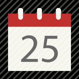 alarm, alert, appointment, calendar, event, month, reminder icon