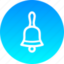 bell, christmas, new year icon