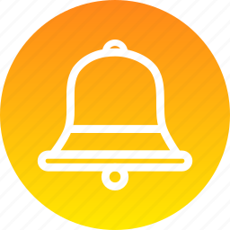 bell, christmas, new year, ring icon