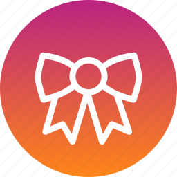bow, christmas, clothing, dress, new year icon