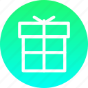 box, christmas, gift, new year, present icon