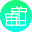 box, christmas, gift, gifts, new year, present icon