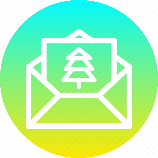 celebration, christmas, invitation, invite, mail, new year, party icon