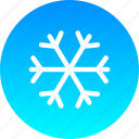 christmas, cold, new year, snow, snowfall, snowflake, winter icon