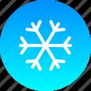 christmas, cold, new year, snow, snowfall, snowflake, winter icon