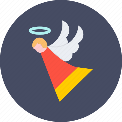 angel, christmas, fairy, holy, new year icon