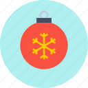 ball, christmas, decoration icon