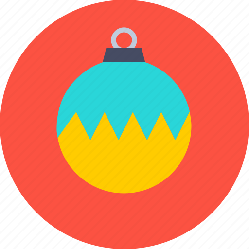 ball, christmas, decoration, new year icon