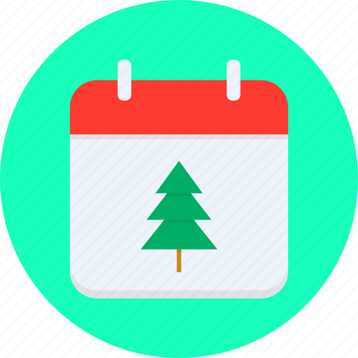 calendar, christmas, date, december, eve, festival, winter icon
