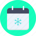 calendar, christmas, date, december, eve, new year, winter icon