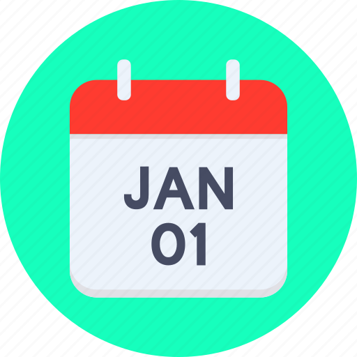 calendar, date, eve, event, january, new year icon