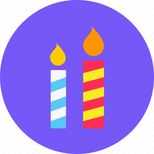 candle, christmas, holy, light, new year icon